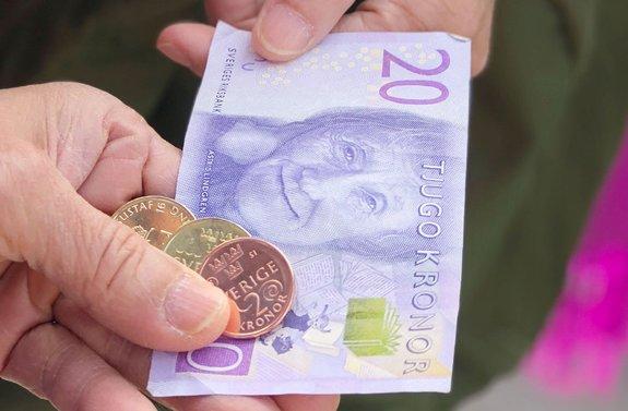 Swedish parliament worries a dash to cashless is too rash
